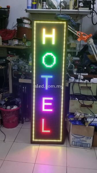 LED Display Multi-color - Hotel Multi Color LED Display Penang, Malaysia, Perai Supplier, Suppliers, Supply, Supplies | J S Led (M) Sdn Bhd