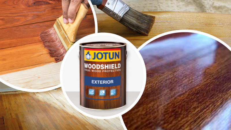Woodshield Exterior Exterior Decorative Coating Ampang, Selangor, Malaysia Supply, Supplier, Suppliers | Hst Solutions Sdn Bhd