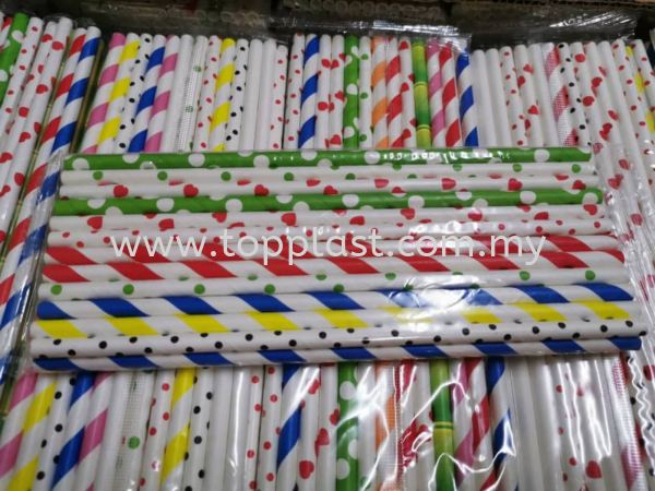 Paper Straw  Kitchen Use Penang, Malaysia Supplier, Suppliers, Supply, Supplies   Top Plast Enterprise
