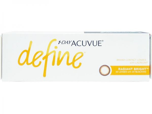1 Day Acuvue Define 30¡¯s (Radiant Bright)  Johnson and Johnson Contact Lens Penang, Kedah, Malaysia Services, Retailer | Focus Optometry Sdn Bhd