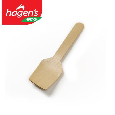 Eco Wooden Ice Cream Spoon