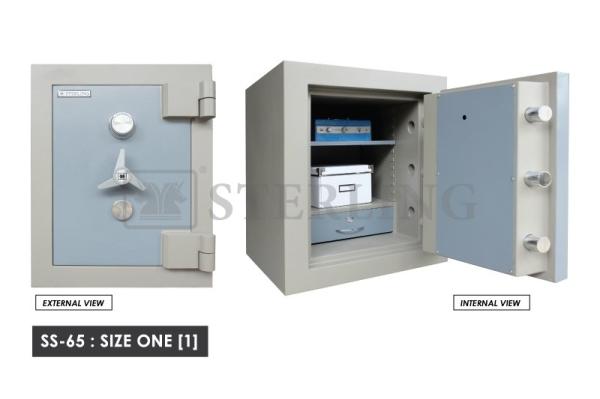 Safety Box (SS-65/1) Safety Box With Digital Lock Selangor, Kajang, Malaysia, Kuala Lumpur (KL) Supplier, Installation, Supply, Supplies   GK HD CCTV