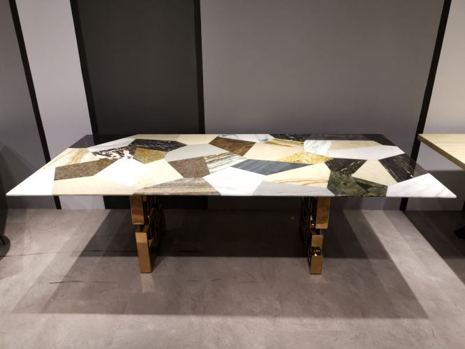 Marble Dining Table - DeCasa Crafts