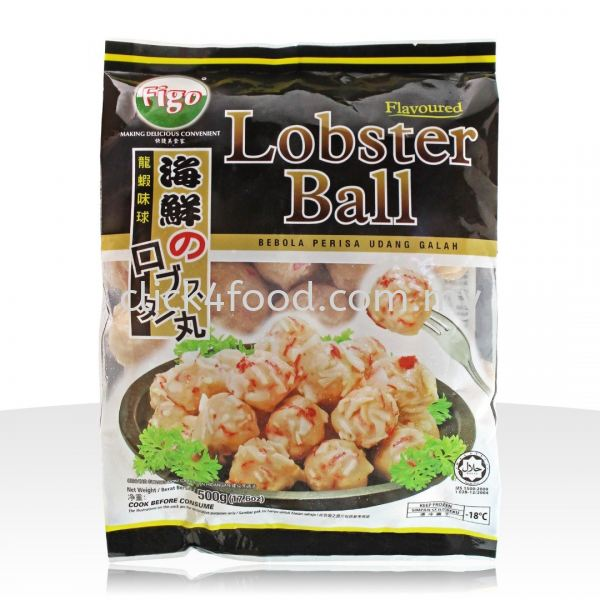 FG Lobster Ball (500gm) Figo Products Selangor, Malaysia, Kuala Lumpur (KL), Batu Caves Supplier, Delivery, Supply, Supplies | GS Food Online Services