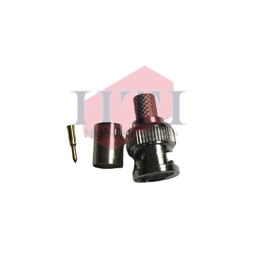 BNC RG59 DCOM Crimping Type BNC Connector Coaxial Component Johor Bahru (JB), Malaysia Suppliers, Supplies, Supplier, Supply   HTI SOLUTIONS SDN BHD