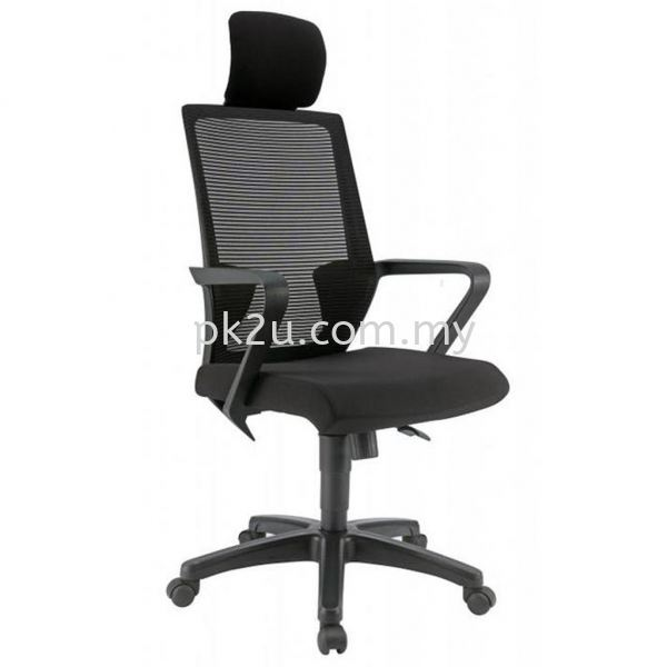 PK-BCMC-12-H-C1-ANGLE High Back Mesh Chair with PP Base Basic Mesh Chair Mesh Office Chairs Office Seating Johor Bahru, JB, Malaysia Manufacturer, Supplier, Supply | PK Furniture System Sdn Bhd