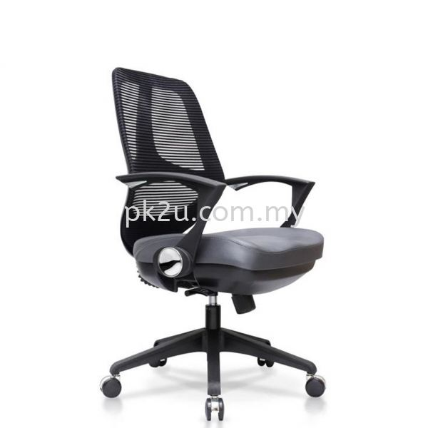 PK-BCMC-17-M-C1-Verona Medium Back Mesh Chair  Basic Mesh Chair Mesh Office Chairs Office Seating Johor Bahru, JB, Malaysia Manufacturer, Supplier, Supply | PK Furniture System Sdn Bhd