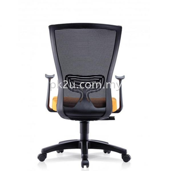 ERGO LITE - Mid Back Mesh Chair with Fixed Armrest (C1-BCMC-20-M) Basic Mesh Chair Mesh Office Chairs Office Seating Johor Bahru, JB, Malaysia Manufacturer, Supplier, Supply | PK Furniture System Sdn Bhd