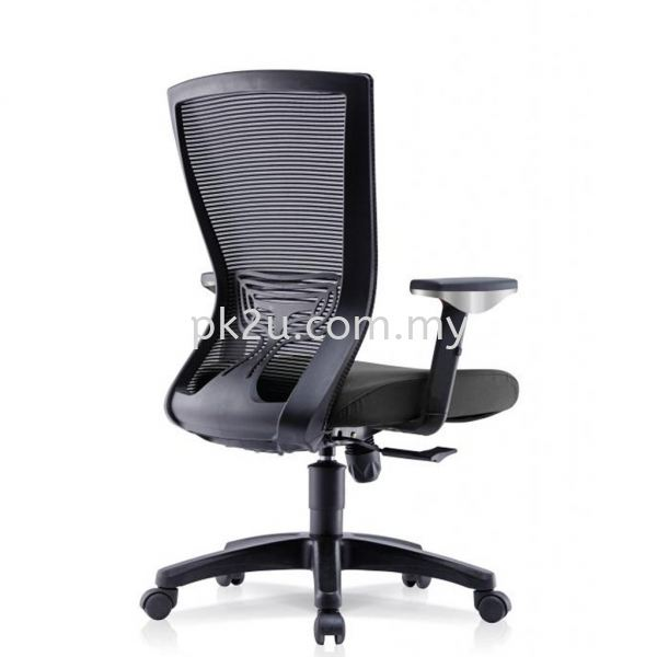 PK-BCMC-20-M-AA-C1-ERGO LITE Mid Back Mesh Chair with Adjustable Armrest Basic Mesh Chair Mesh Office Chairs Office Seating Johor Bahru, JB, Malaysia Manufacturer, Supplier, Supply | PK Furniture System Sdn Bhd