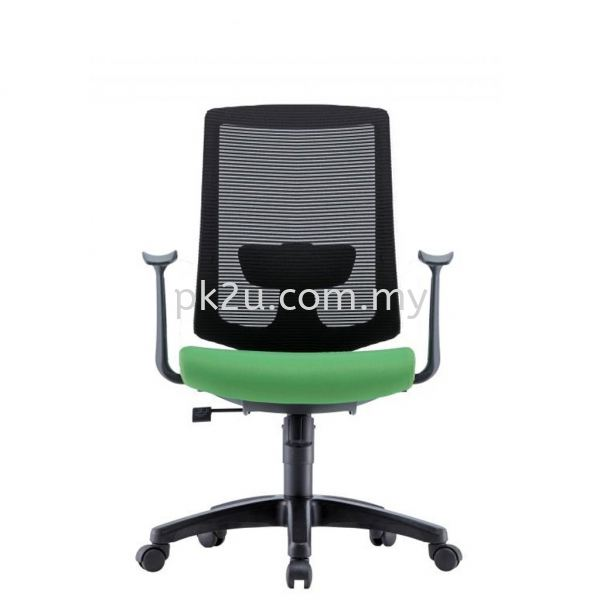 PK-BCMC-25-M-AA-C1-Amber Medium Back Mesh Chair with Fixed Armrest Basic Mesh Chair Mesh Office Chairs Office Seating Johor Bahru, JB, Malaysia Manufacturer, Supplier, Supply | PK Furniture System Sdn Bhd
