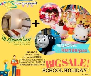 BIG SALE SCHOOL HOLIDAY  2D1N JB STAY AMANSARI!