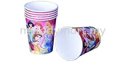 Paper Cup 10'S - Princess Paper cup  Tableware Party Supplies Kuala Lumpur (KL), Malaysia, Selangor, Kepong, Petaling Jaya (PJ) Supplier, Rental, Manufacturer, Wholesaler | Melody Party Supply Sdn Bhd / Melody Costume Gallery