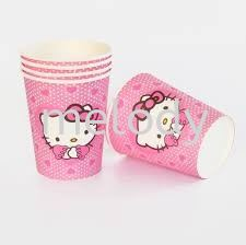 Paper Cup 10'S - Hello Kitty Paper cup  Tableware Party Supplies Kuala Lumpur (KL), Malaysia, Selangor, Kepong, Petaling Jaya (PJ) Supplier, Rental, Manufacturer, Wholesaler | Melody Party Supply Sdn Bhd / Melody Costume Gallery