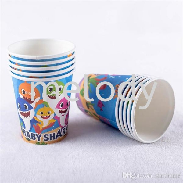 Paper Cup 10'S - Baby Shark Paper cup  Tableware Party Supplies Kuala Lumpur (KL), Malaysia, Selangor, Petaling Jaya (PJ) Supplier, Rental, Manufacturer, Wholesaler | Melody Party Supply Sdn Bhd / Melody Costume Gallery