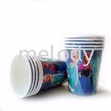 Paper cup 10'S - Frozen Paper cup  Tableware Party Supplies Kuala Lumpur (KL), Malaysia, Selangor, Kepong, Petaling Jaya (PJ) Supplier, Rental, Manufacturer, Wholesaler | Melody Party Supply Sdn Bhd / Melody Costume Gallery