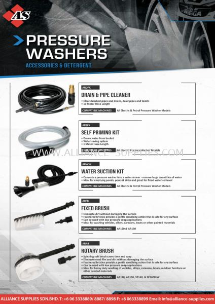SP Pressure Washers Accessories 2.15 Pressure Washers & Accessories  02.SP TOOLS Malaysia Melaka Johor Selangor Supplier, Supply, Supplies | Alliance Supplies Sdn Bhd