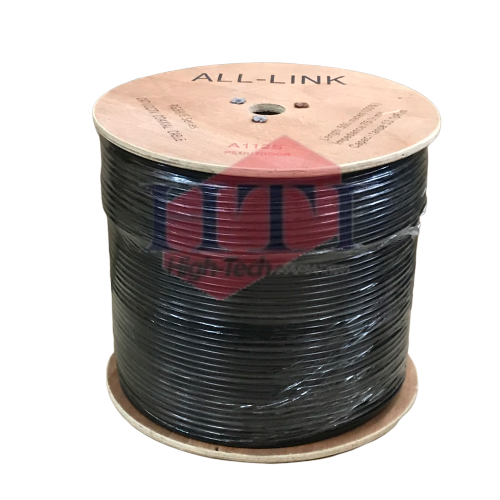 RG6 A112 PE Outdoor Coaxial Cable 500M RG6 Coaxial Cable Coaxial Component Johor Bahru (JB), Malaysia Suppliers, Supplies, Supplier, Supply | HTI SOLUTIONS SDN BHD