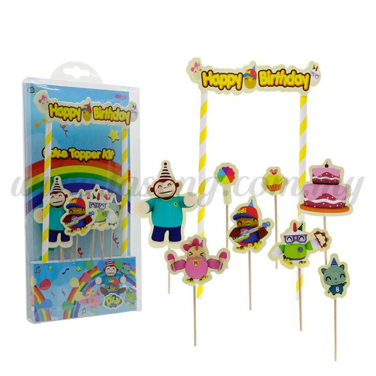 DIDI & Friends Cake Toppers (DF-CT-01)