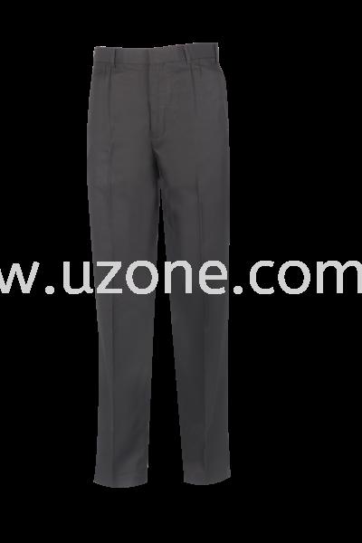 TTR 1 : LONG TROUSER DOUBLE PLEAT (CUSTOM MADE) BLACK TTR (TETORON RAYON) Trouser Johor Bahru (JB), Malaysia, Kuala Lumpur (KL), Selangor Manufacturer, Supplier, Supply, Supplies   Hern Loong Perniagaan Sdn. Bhd.
