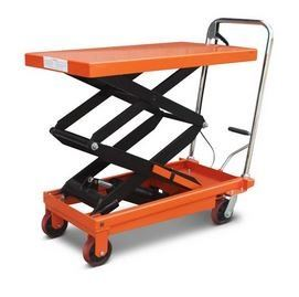 """NIULI"" 300KG LIFTING TABLE, LIFTING HT: 340-900MM (TABLE SIZE: 855X500MM) MATERIAL HANDLING EQUIPMENTS OTHER TOOLS Singapore, Kallang Supplier, Suppliers, Supply, Supplies 