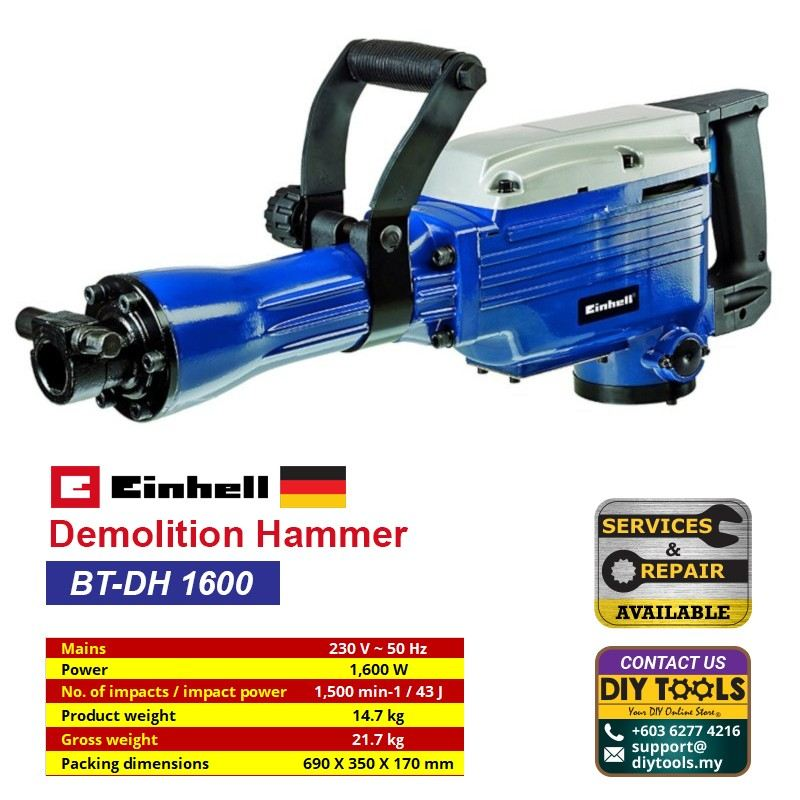 EINHELL Demolition Hammer BT-DH 1600