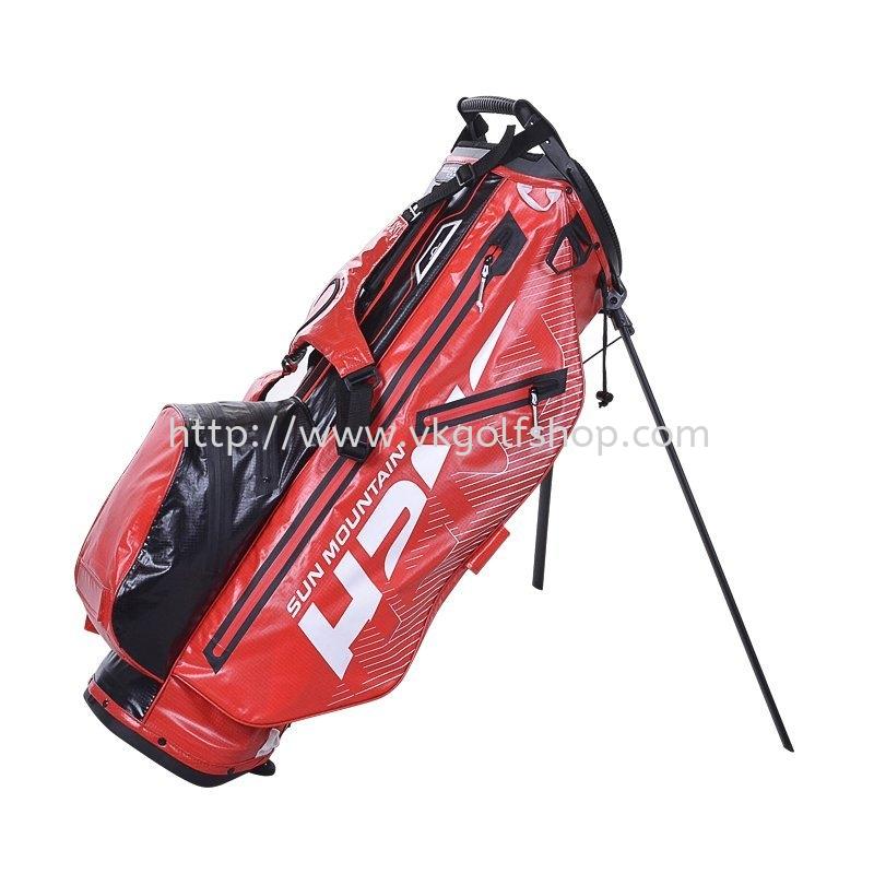 2020 H2NO LITE 14 STAND BAG RED/BLACK