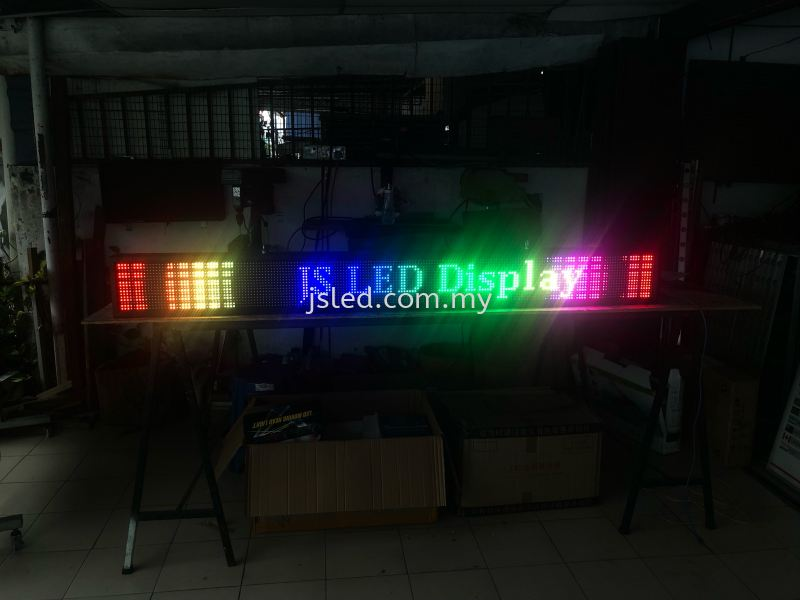 Multi Color LED DISPLAY -6ft X 0.5ft Multi Color LED Display Penang, Malaysia, Perai Supplier, Suppliers, Supply, Supplies | J S Led (M) Sdn Bhd