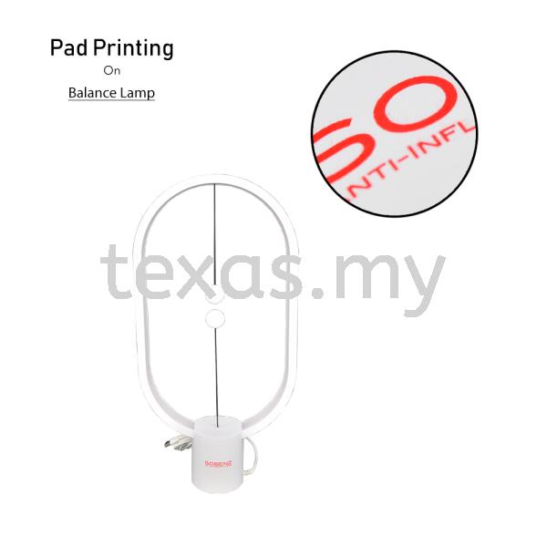 Balance lamp Pad Printing Kuala Lumpur (KL), Malaysia, Selangor, Sri Petaling Service | Texas Print