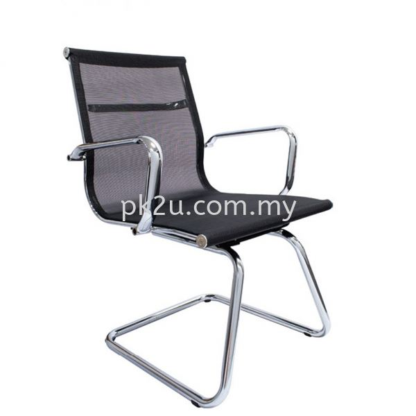 PK-BCMC-24-V-C1-VOLTOL Visitor Mesh Chair Basic Mesh Chair Mesh Office Chairs Office Seating Johor Bahru, JB, Malaysia Manufacturer, Supplier, Supply | PK Furniture System Sdn Bhd