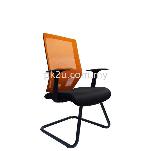 PK-BCMC-38-V-AA-L1-MESH 38 Visitor Mesh Chair Basic Mesh Chair Mesh Office Chairs Office Seating Johor Bahru, JB, Malaysia Manufacturer, Supplier, Supply | PK Furniture System Sdn Bhd