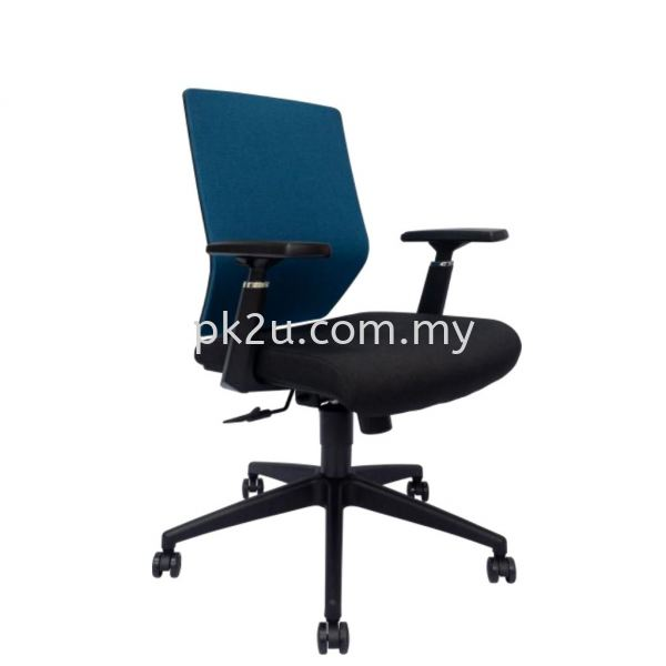 MESH 38 - Mid Back Mesh Chair (L1-BCMC-38-M-AA) Basic Mesh Chair Mesh Office Chairs Office Seating Johor Bahru, JB, Malaysia Manufacturer, Supplier, Supply | PK Furniture System Sdn Bhd