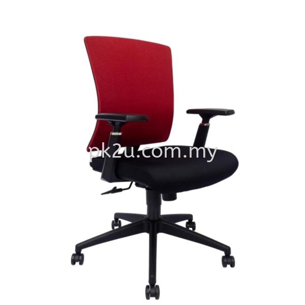 PK-BCMC-43-M-AA-L1-Mesh 43 Medium Back Mesh Chair Basic Mesh Chair Mesh Office Chairs Office Seating Johor Bahru, JB, Malaysia Manufacturer, Supplier, Supply | PK Furniture System Sdn Bhd