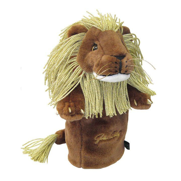 Winning Edge Headcover - Champions - Gold Lion