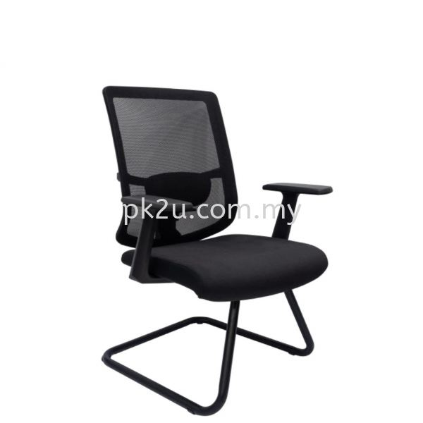 PK-BCMC-46-V-L1-MESH 46 Visitor Mesh Chair Basic Mesh Chair Mesh Office Chairs Office Seating Johor Bahru, JB, Malaysia Manufacturer, Supplier, Supply | PK Furniture System Sdn Bhd