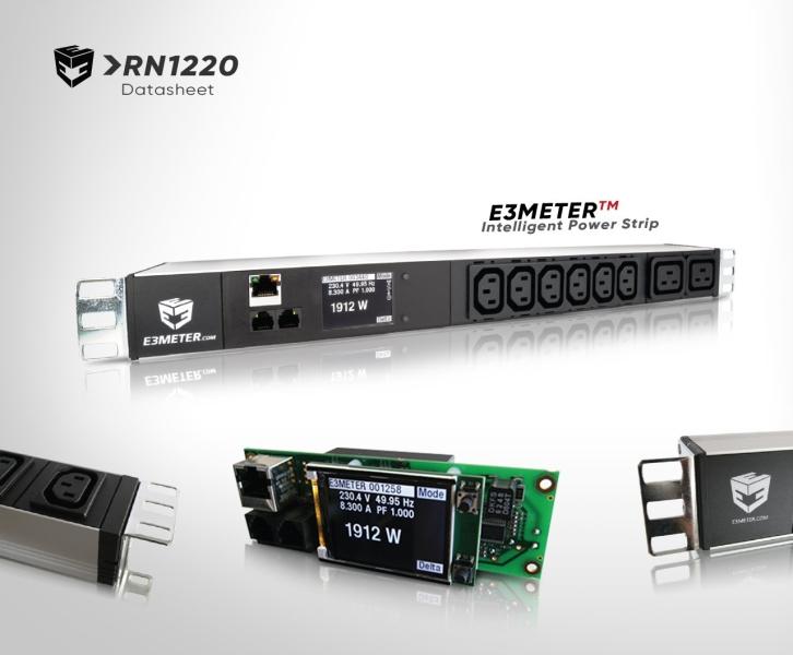 RN1220 (Datasheet) E3METER RNX Power Meters Johor Bahru (JB), Malaysia, Kuala Lumpur (KL), Singapore, Penang System, Solutions, Supplier, Supply   Saturn Pyro Sdn Bhd