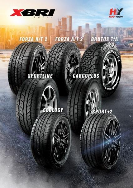 XBRI New Tyre Johor Bahru (JB), Malaysia, Ulu Tiram Supplier, Wholesaler, Supply, Supplies | Highclass Technics Sdn Bhd