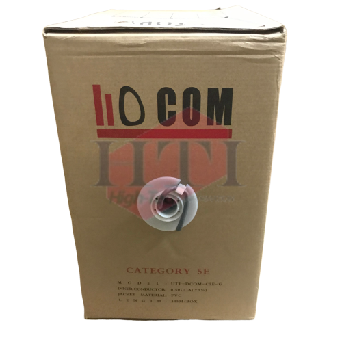 CAT5E UTP DCOM CAT5E 305M CCA LAN CABLE Network/ LAN Cable Networking Products Johor Bahru (JB), Malaysia Suppliers, Supplies, Supplier, Supply | HTI SOLUTIONS SDN BHD