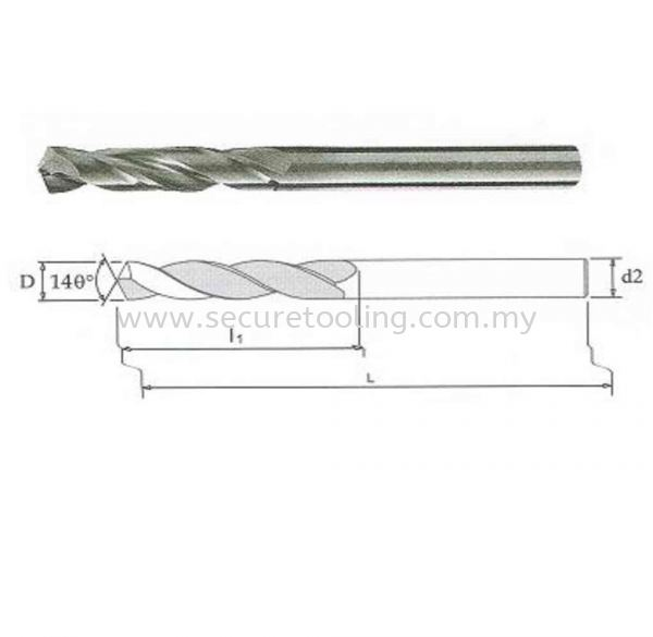 Solid Carbide Twist Drill CARBIDE TWIST DRILLS Malaysia, Selangor, Kuala Lumpur (KL), Shah Alam Supplier, Suppliers, Supply, Supplies | Secure Tooling Systems Sdn Bhd