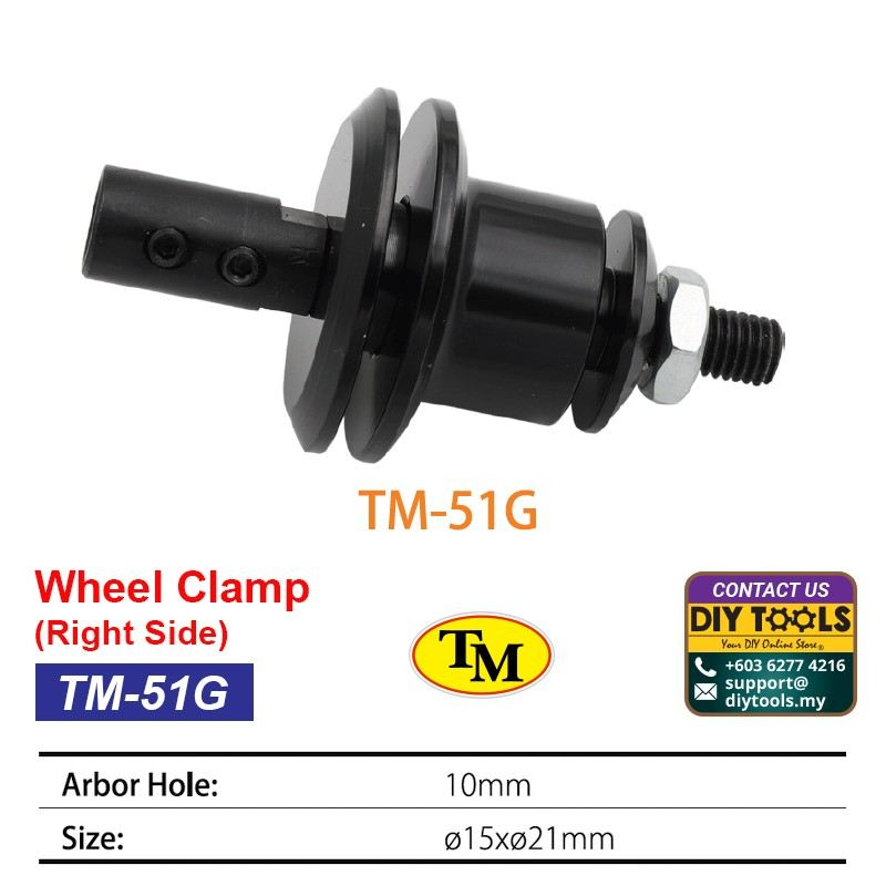 TM Wheel Clamp-Right Side TM-51G