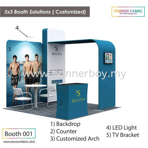 [Best Seller 2019] Tension Fabric Display System