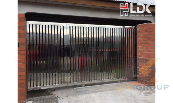 LDK GATE083 LDK MAIN GATE Johor Bahru (JB), Malaysia, Kulai Supplier, Manufacturer, Supply, Supplies | LDK Stainless Steel Sdn Bhd