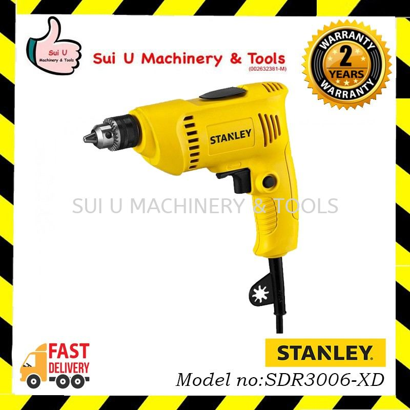 STANLEY SDR3006-XD 6.5MM Rotary Drill 300W