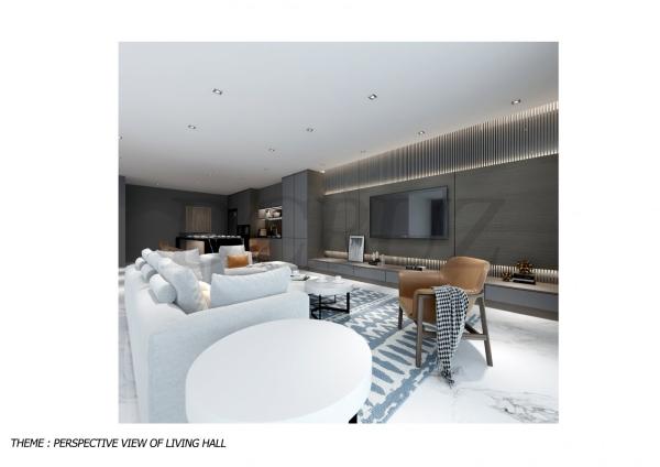 Living Hall Others Johor Bahru (JB), Tampoi Indah, Malaysia Design, Renovation, Construction | Dcruz Interior Design Sdn Bhd