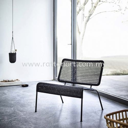 RATTAN LOUNGE CHAIR JACOB
