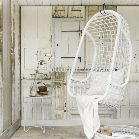 RATTAN HANGING CHAIR ELSA