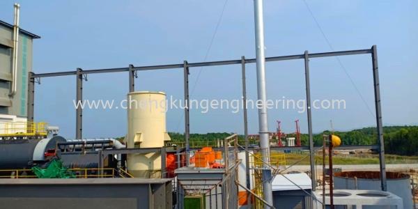 JB Cocoa Boiler House (PTP) Structure Steel Works Selangor, Malaysia, Kuala Lumpur (KL), Kajang Fabrication, Service | Kejuruteraan Cheng Kung Sdn Bhd