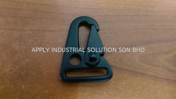 "Black Gun Snap Hook 1"" Buckle / Hook Transport & Protective Packaging Products Penang, Malaysia, Butterworth Supplier, Wholesaler, Supply, Supplies 