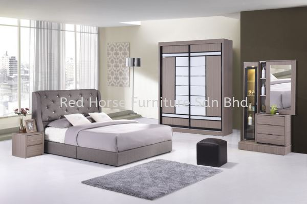 HW 76 Full Bedroom Set Johor, Malaysia, Batu Pahat Manufacturer, Supplier, Supply, Supplies | Red Horse Furniture Sdn Bhd