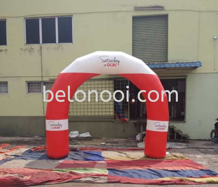 INFLATABLE ARCH 10FT HEIGHT X 12FT WIDTH (OUTER SIZE)  Inflatable Arch & Skydancer Selangor, Malaysia, Kuala Lumpur (KL), Balakong Supplier, Suppliers, Supply, Supplies   Belon Ooi (M) Sdn Bhd