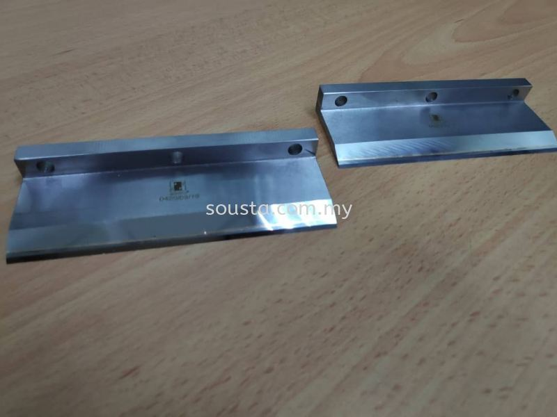 Brazed Carbide Knifes Paper Industries Johor Bahru (JB), Malaysia Sharpening, Regrinding, Turning, Milling Services | Sousta Cutters Sdn Bhd